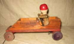 A Great Early Childs Happy Ham Pull Toy