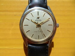 Vintage Swiss Enicar 17 Star Jewels Manual Menand039s Watchcal.1140