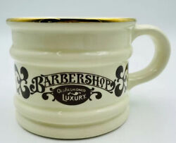 Vtg Barbershop Old Fashioned Luxury Shaving Mug Made In Chile Pre-owned