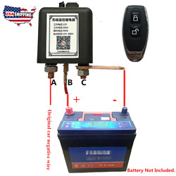 12v Wireless Remote Old Car Vehicle Battery Disconnect Relay Master Kill Switch