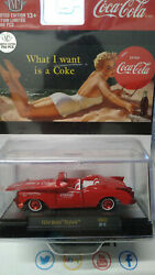 M2 Machines Coca Cola 1954 Buick Skylark Chase 750 Pieces Cart