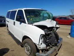 Driver Rear Back Door With Window Swing Out Fits 96-18 Express 2500 Van 172465
