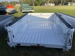 2020 Gmc Sierra 3500 Pickup Bed Box Dually White 8and039