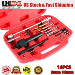 Glow Plug Removal Remover Tool Kit For Damaged 8 And 10mm Glow Plugs New.