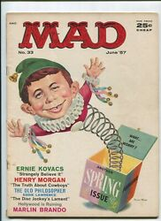 Mad 33 4.0 The Fisherman Collection June Issue 1957
