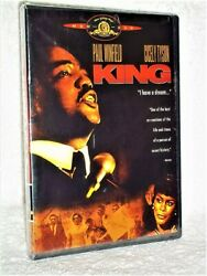King Dvd 2005 Martin Luther Cecily Tyson Paul Winfield Civil Rights Drama