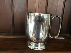 Vintage Silver Plated Epns A1 Pint Tankard