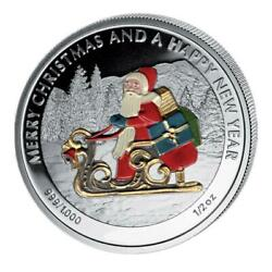 Liberia 2011 Merry Christmas And A Happy New Year 6x 1/2oz Silver Proof Coin Set