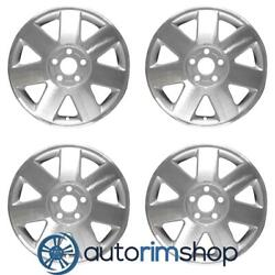Lincoln Ls 2002-2004 16 Oem Wheels Rims Full Set Machined With Silver
