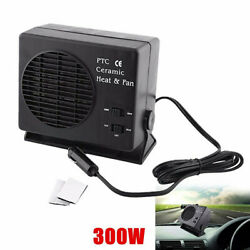 150w/300w 2 In 1 Auto Heater Heating Cooling Fan Defroster Demister Fit For Car