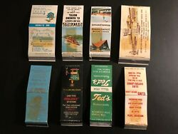 Old Vintage Matchbooks 8 After Being Hinged To The Albom