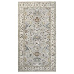 6and0392x11and0398 Oversize Gray Karjihooz Design Wool Hand Knotted Oriental Rug R62136
