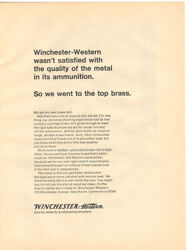 1970 Winchester Western  2 Page Magazine Ad  Our Own Brass Mill
