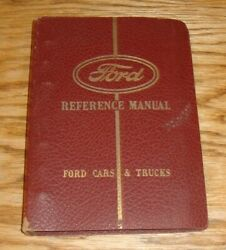 Original 1942 Ford Car And Truck Lincoln Mercury Reference Manual Dealer Album 42