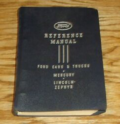 Original 1939 Ford Car And Truck Lincoln Mercury Reference Manual Dealer Album 39