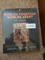 Worlds Together Worlds Apart History Textbook 6th Edition Combined