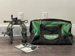 Mcelroy Spider 125 Series 2 Pipe Fusion Machine 467601 W/ Carry Case
