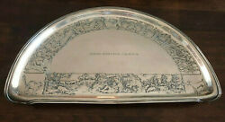 Kerr Sterling Silver Antique High Chair Tray