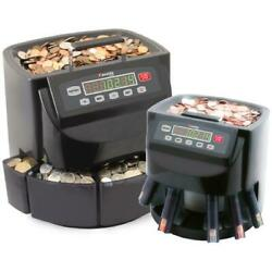 Cassida C200 [usd] Business-grade Electronic Coin Sorter, Counter And Roller
