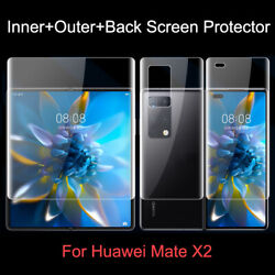 Hydrogel Screen Protector Full Cover Protective Film For Huawei Mate X2 5g Lot