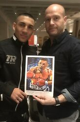 Teofimo Lopez Limited Edition Art Print Signed By Killian