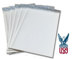 Size 2 - 8.5x11 Kraft White Bubble Mailers Ships Today