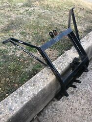 Western Snow Plow Lift Pump And Light Frame For Pro Uni Mount