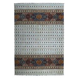 8and0398x12and0393 Khorjin Design Ivory Super Kazak Pure Wool Hand Knotted Rug R52245