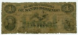 Dominican Republic Andhellip P-s121 Andhellip 1 Peso Andhellip 1869 Andhellip G-vg ... Rare