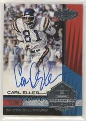 2017 Panini Plates And Patches Canton Calligraphy /99 Carl Eller Cc-ce Auto Hof
