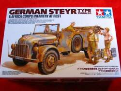 Tamiya 1/35 German Steyr Type 1500a/01 And Africa Corps Infantry At Rest 35305