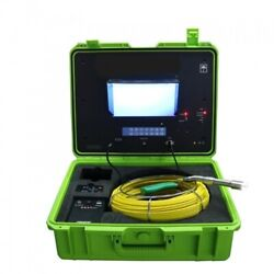 Sewer Drain Pipe 1 Inspection Camera Lcd 10 130ft Cable 512hz Sonde Ft Counter