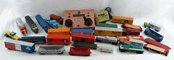 Tyco Vintage Electric Train Set With Controller, Rails, Manuals - Huge Lot