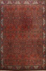 Vintage Vegetable Dye Bidjar Hand-knotted Area Rug Palace Size Oriental 11and039x15and039