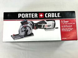 Porter-cable 5.5-amp 3-1/2-in Corded Circular Multi-material Saw-new-pce380k
