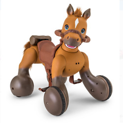 Kidtrax 12-volt Rideamals Scout Pony Interactive Ride-on