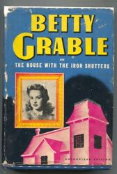 Betty Grable And The House With Iron Shutters 2386 1943-whitman-movie Star Ser...