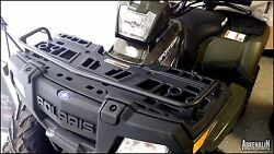 Complete Package Polaris Sportsman 90/110 Front Brushguard And Front Rack Extender