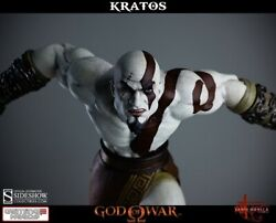 Lunging Kratos Statue God Of War Gaming Heads Sideshow Collectibles Nib Sealed