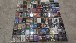 Rare [106 Cassette] Metal Thrash Rock Collection Metallica Misfits Anthrax Tapes
