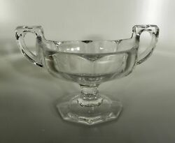 Jefferson Glass 1907 Krys-tol Chippendale Fruit Preserve Footed Compote