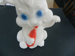 Tpi Easter Bunny Holding Carrot Blow Mold 12