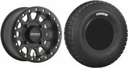 Mounted Wheel And Tire Kit Wheel 15x7 4+3 4/156 Tire 35x10-15 8 Ply