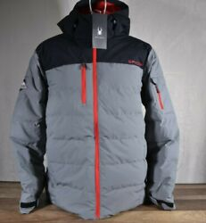 New Spyder Menandrsquos Outdoor Insulated Down Jacket Variety Of Sizes And Colors 142317