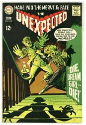 Unexpected 109 Johnny Peril Horror Suspense Mad Mod Witch 1968 Dc Comic J4653