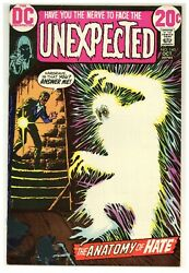 Unexpected 140 Cardy Cover Mad Mod Witch Horror Suspense 1972 Dc Comics J4670