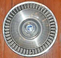 1964 Ford Galaxie 14 Chrome Stainless Hubcap Hub Cap Wheel Cover Used Oem One