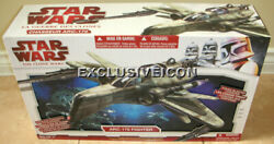 Star Wars 2009 The Clone Legacy Collection Chasseur Arc-170 Fighter Canadian