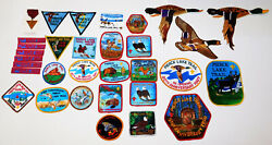 Boy Scout Pierce Lake Trail Medal A Multiple Patch Collection