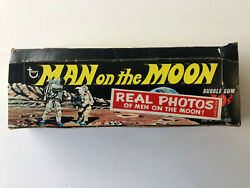 1969 Topps Man On The Moon Empty Display Box - No Cards.